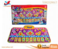 Baby toy,Electronic baby toy hopscotch play mat with music