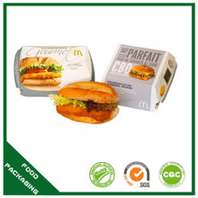 Most popular export burger boxes