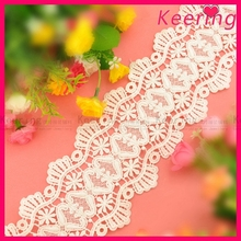 elastic lace trimming for lady dress WLC-130