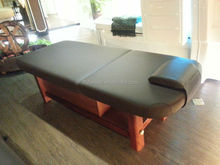 Heavy strong wood beauty bed therapeutic massage bed ( BY-B-961-1)