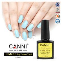 CANNI New 2015 nail gel product 40602W 7.3ML Soak Off UV LED Matt Top coat