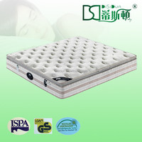 Rolled up Pocket Coil Spring Single size Mattress in carton box