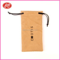 2015 New style Microfiber Glasses Pouch /Sunglasses Cleaning Bags