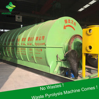 16mm Q345R boiler plate Waste Tyre Refining Oil Equipment With CE&ISO&BV&SGS