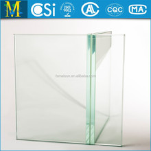 Clear Float Tempered Glass for Handrail/Guardrail 4mm--19mm regular and irregular shape