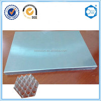 aluminum honeycomb panel , materials used building partition wall