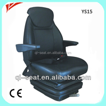YS15 Aftermarket Construction Vehicle Seat with Suspension