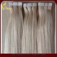 Best Wholesale Websites 16 Inch To 36 Inch 100% Unprocessed Natural Tape Hair Extensions
