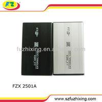 2.5 hdd enclosure USB 2.0 SATA Hard Disk Drive HDD/HD Enclosure/Case