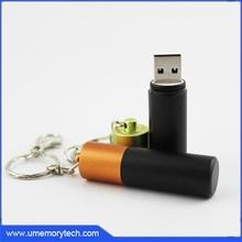 Metal usb new arrival usb keychain bulk pen drive usb memory disk hot sale