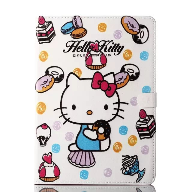 Ultra Slim Hello Kitty Smart Case Cover for Apple ipad Mini 1/2 PU Leather with Stand Hard Book Cover 7 Colors Auto Wake & Sleep