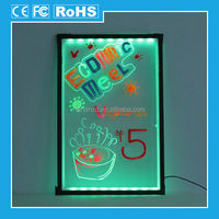 2014 new design transparent small led display board