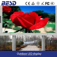 Good led quality warranty 5 years P10 P6 P8 HD video LED display hig definition