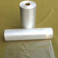 HDPE/LDPE transparent plastic freezer food bags on roll