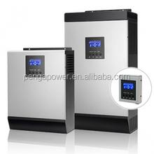 3kva-plus solar power solar inverter pure sine wave off grid inverter&60A mppt solar inverter charger
