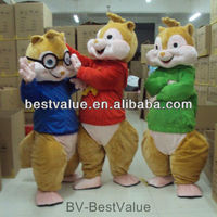 Adult Size the Alvin and the chipmunks Mascot Costume