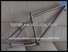 profissional suspensão total de titânio mountain bike quadro