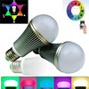 Dimmable colorful remote control smart light bluetooth wifi bulbs led