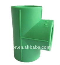 Newest enviromental ppr pipe joint as equal tee shape