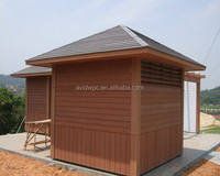 Cheap modern wpc prefab house with good quality