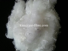 Stuffing material recycled polyester staple fiber psf semi-dull SD RW