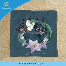 ladies' fashion printed polyester handkerchief