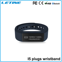 CE RoHS BQB New BT4.0 Touch screen sports waterproof bluetooth bracelet for iphone 5 6 plus & Sumsung android mobile phone