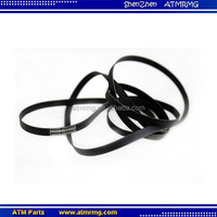 atm machine spare parts Diebold 29-008482-000D 29008482000D Semi-Stretch Flat 250 atm belt dimensions