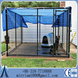 Welded Big Folding Dog Kennels Cage, dog kennel cage, steel dog cage