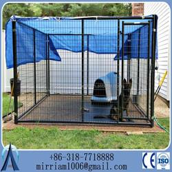 Welded Big Folding Dog Kennels Cage, dog kennel cage, steel dog cage