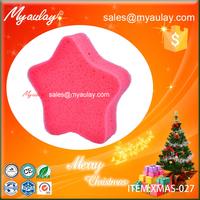2015 Christmas decorations star sponge wholesale product XMAS-027