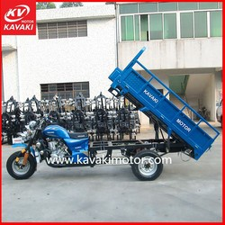 Factory direct sale good quality motorcycle big cargo box three wheel tricycle for bigger discount made In China