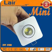 AC85-265V CRI Ra>80 under cabinet 3W cob single mini led light