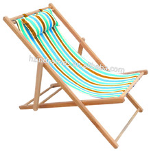 Solid folding reclining beach chair factory with cheap price