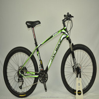27.5 inch hot sale carbon fiber mountain bicycle full suspension bike