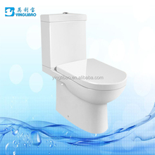 Chaozhou Sanitary ware Export ceramic p trap washdown 2 pc toilet