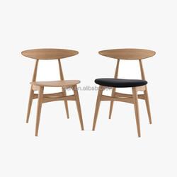 Hans Wegner Teak and Oak Dining Chair