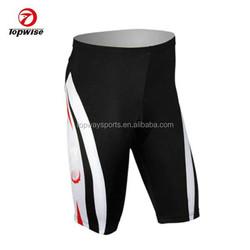 OEM sublimation cycling shorts padded bike riding shorts