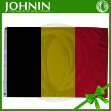 De calidad superior autos usados venta bélgica caliente de la venta customed negro amarillo rojo nacional de bélgica bandera de la bandera