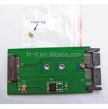 M.2 NGFF SSD to 1.8 micro sata adapter card