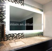 mirror bathroom,bathroom mirror with led,backlit led light mirror