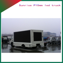 P10 New truck mobile led display for rent