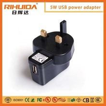 Hot Sales Mobile phone charger usb wall mount power charger