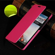 2015 Free Sample China Supplier Luxury Flip Phone Case Leather Mobile Phone Case For Lenovo s820t