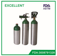 D SIZE DOT gas cylinder / aluminum gas cylinders