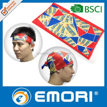 Low cost novelty gift remarkable magic headwear scarf