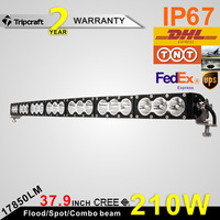 38 inch 210W Super Slim Led Driving Work Light Bar Spot Offroad 4WD Suv Bar