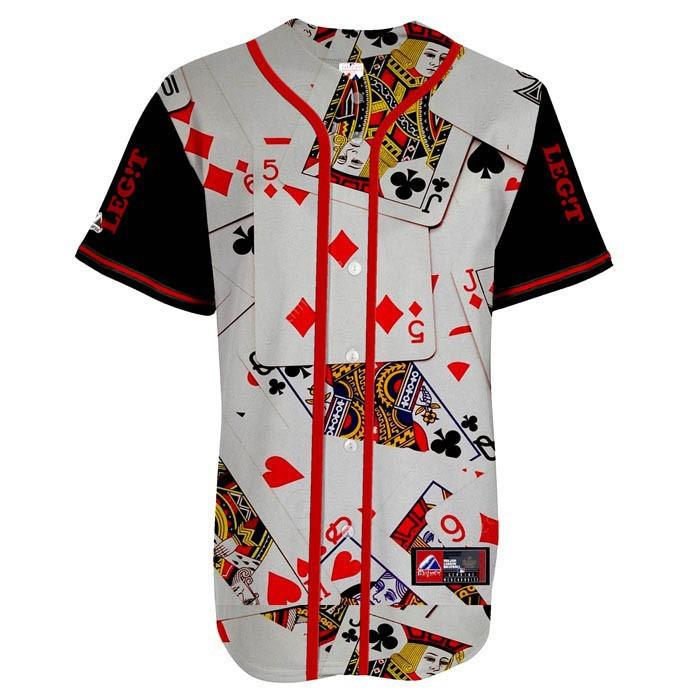 Baseball Jersey no Buttons Button up Baseball Jerseys