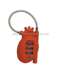 2015 Heart shaped mechanical code lock/smart code lock and combination lock