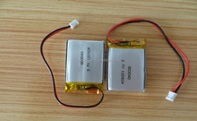 Rechargeable 702944 li polymer battery pack 3.7V 900mAh li-ion battery 1000mah